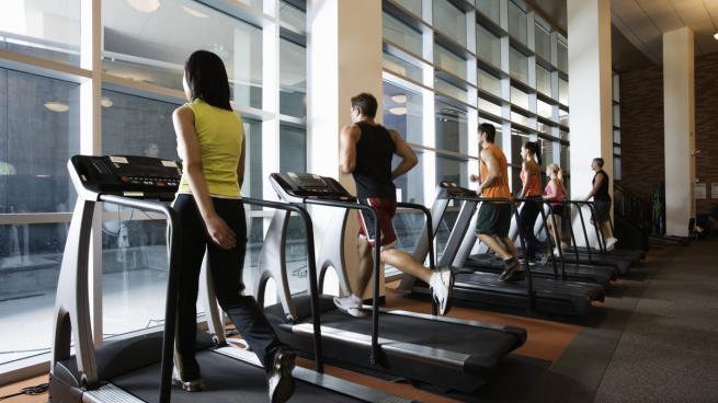 درک مطلب سطح متوسط ۱ (B1) به همراه تمرین A flyer for a gym