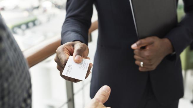 درک مطلب سطح پایه به همراه تمرین Business cards