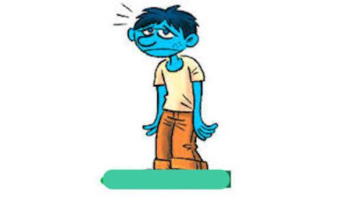 معنی فارسی اصطلاح: Feel blue have the blues