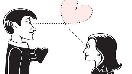 معنی فارسی اصطلاح: Love at first sight