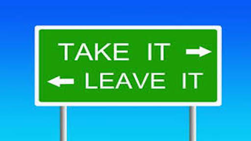 معنی فارسی اصطلاح Take It Or Leave It