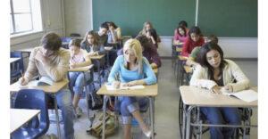 درک مطلب سطح پایه به همراه تمرین A poster for exam candidates