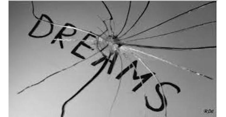 معنی فارسی اصطلاح: Broken dreams