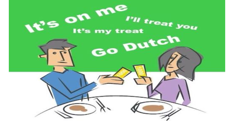 معنی فارسی اصطلاح: Dutch treat/Go Dutch