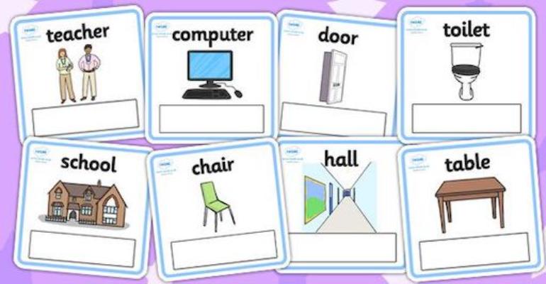 لغات پایه زبان انگلیسی -وسایل روز مره به انگلیسی (Everyday objects)