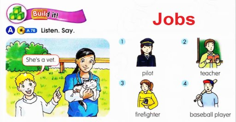1لغات پایه زبان انگلیسی -شغل به انگلیسی ( Jobs )(1)