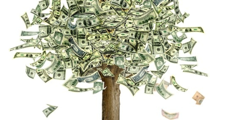 معنی فارسی اصطلاح: Money doesn't grow on trees