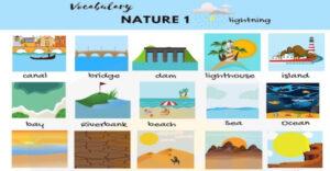 لغات پایه زبان انگلیسی -طبیعت به انگلیسی (Nature)
