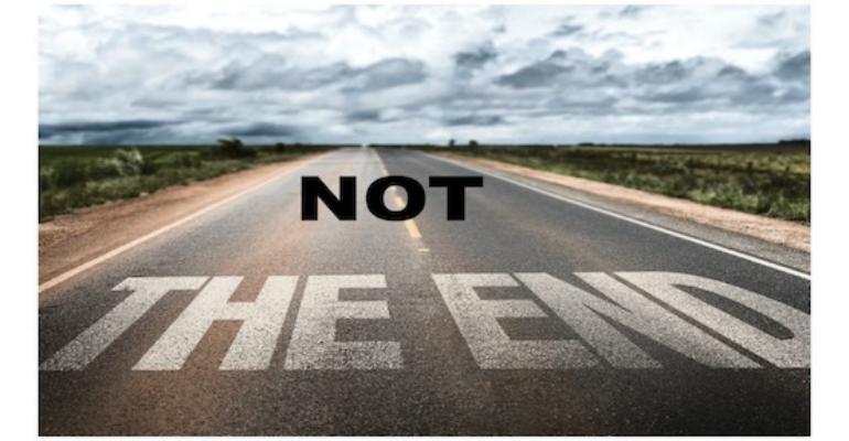 معنی فارسی اصطلاح: Not the end of the world