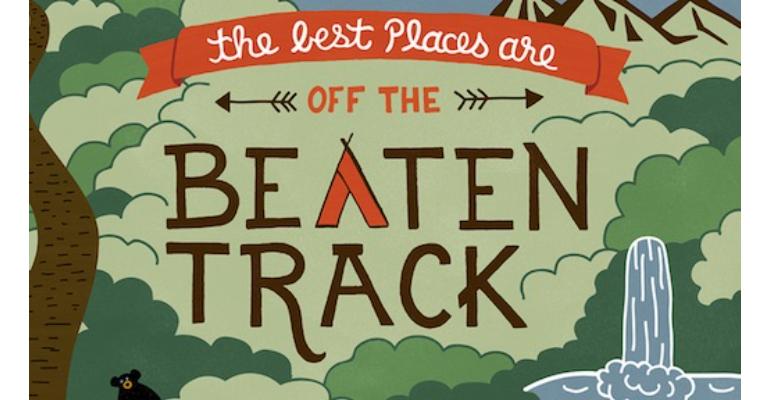 معنی فارسی اصطلاح: Off The Beaten Track