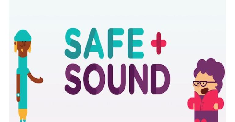 معنی فارسی اصطلاح: Safe and sound