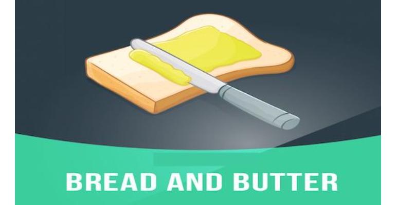 معنی فارسی اصطلاح: Someone's bread and butter