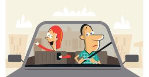 معنی فارسی اصطلاح: Take a back seat