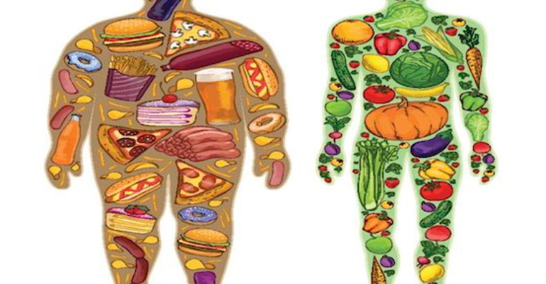 معنی فارسی اصطلاح: You are what you eat