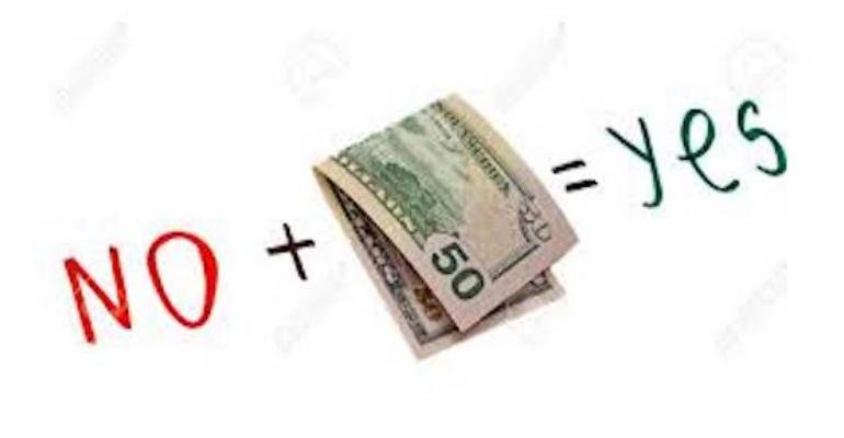 معنی فارسی اصطلاح: Money talks