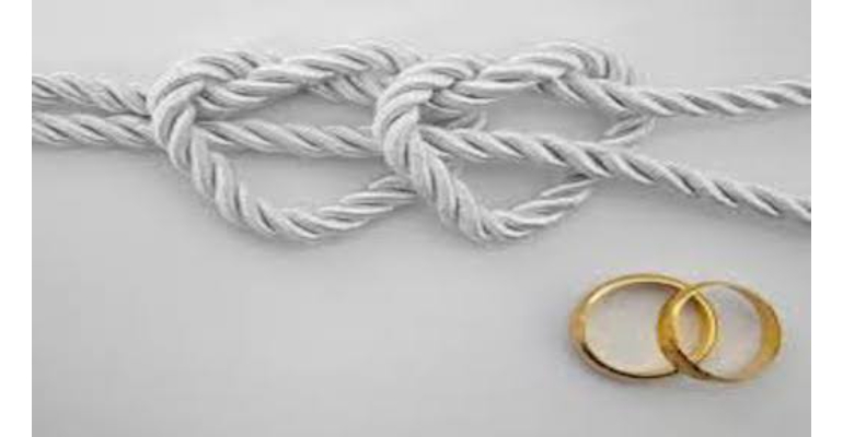 معنی فارسی اصطلاح: Tie the knot
